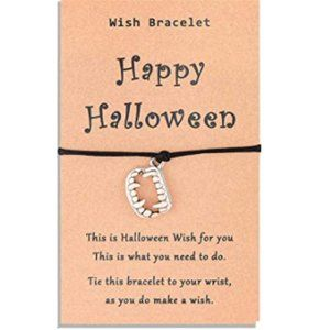 Happy Halloween Wish Bracelet